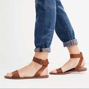 NWT Madwell The Boardwalk Ankle Strap Sandal